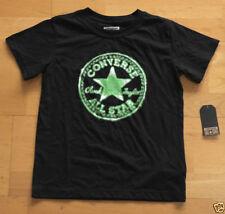 T-shirts et hauts noirs coton mélangé pour garçon de 2 à 16 ans