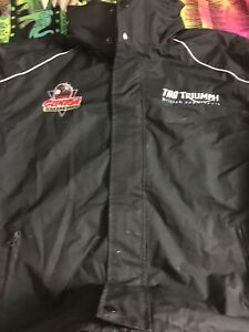 TRIUMPH TAG ORIGINAL SPONSORS CREW JACKET FROM COLLECTION MOTORCYCLES BIKES