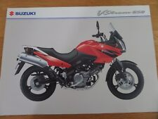 Suzuki V-STROM 650 Motorcycle Sales Brochure 2005