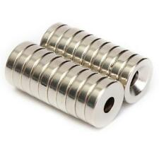 20PCS LOT Neodymium Magnets Rare Earth Disk Round Ring Super Strong Strengths