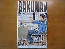 BAKUMAN Vol.1 Manga Jump Comic Book Japanese original version