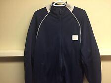 LEBRON JAMES NIKE #23 NAVY BLUE Basketball Track Jacket Sz L NBA