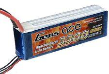 Lipo batería 14,8v 4s de 3300 mAh de 25c gensace Dean Plug nuevo 043-sp1405