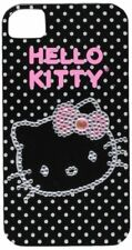 Hello Kitty 23809-BLG-BLK Bling Face Case for iPhone 4/4S Black
