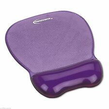 Innovera Gel MOUSE WRIST REST Pad Cushion Purple Ergonomic Support Nonskid Base