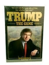 Trump The Game 1989 Milton Bradley New Factory Sealed MINT