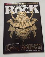 Classic Rock Magazine#293 Oct 2021-Iron Maiden+ Senjutsu Sticker-Brand New