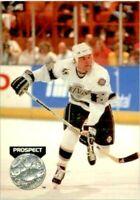1991-92 Pro Set Platinum LA Kings Hockey Card #257 Peter Ahola Rookie! NM-M