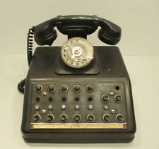 Telefonanlage / Telefon / Fernsprecher / RFT / VEB / Bakelit / Telefonzentrale