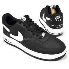 e93c3ad7bea539 Free Shipping. NWT Supreme Comme des Garcons Nike Air Force 1 CDG Black  Split Logo 9 AUTHENTIC