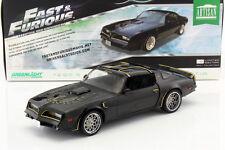 Tego's Pontiac Firebird Trans Am anno di costruzione 1978 film Fast & Furious IV 2009 NERE