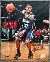 C.J WATSON INDIANA PACERS AUTOGRAPHED SIGNED 8X10 PHOTO