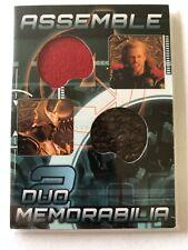 Avengers Assemble AD-8 Thor / Heimdall Dual Memorabilia Relic Card