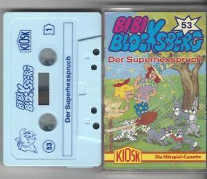 Bibi Blocksberg Kassette Folge 53 DER SUPERHEXSPRUCH   - alternatives Cover RAR!