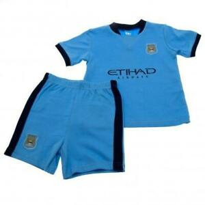 Manchester City Man City Baby T-Shirt and Shorts Set Age 6-9 Months