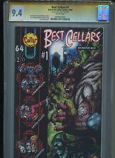 Best Cellars #1 CGC 9.4 (1995) Signature Series Eric Powell Goon Prototype