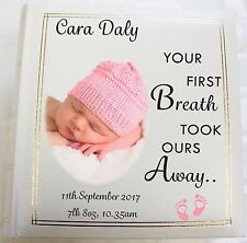 Personalised Photo Album, Memory/Guest Book,Newborn,Baby, (6 x 4) 300 photos
