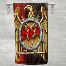 New Bath Towel Slayer Metal Band EMBLEM Beach Towel Hand Towel Gift