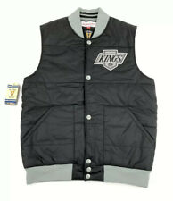 Mitchell & Ness Vintage Hockey Los Angeles Kings Down Puffy Vest Jacket Size S