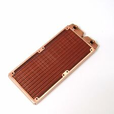 Premium Full Copper Brass 240mm Water Cooling Heatsink Radiator for CPU