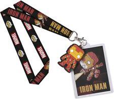 BN Iron Man Marvel Avengers Funko Pop! Lanyard card holder superheroes AU stock
