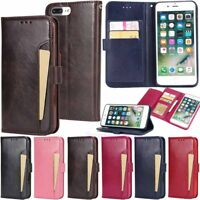 Luxury Leather Wallet Card Holder Flip Phone Case Cover For iPhone X 8 7 6 Plus