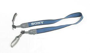 Original Sony Camcorder Camera Neck Strap Navy blue Made in Japan