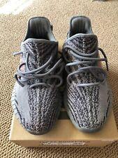 Adidas Yeezy Boost 350 V2 2.0 Grey Orange Pre-owned Men's Size 8