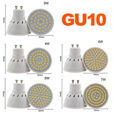 New GU10 Spotlights MR16 LED lights 3W 5W 6W 7W Bulbs Warm Day White Lamps 220V
