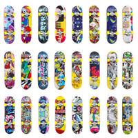 1PC Cute Kids Children Mini Fingerboard Skate Boarding Gifts Party Toy RandomN_N