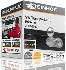ANHÄNGERKUPPLUNG AHK starr VW TRANSPORTER T5 Pritsche 2003-2009 TÜV