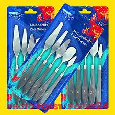 3 X Malspachtel Spachtel Malmesser Farbspachtel Künstlerspachtel Palettenmesser