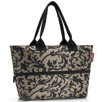 reisenthel shopper e1 einkaufstasche mit reißverschluss baroque taupe RJ7027