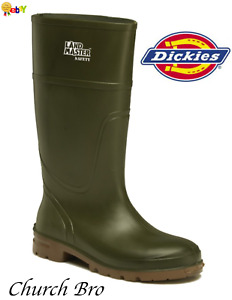 New Dickies FW94105 Landmaster Steel Insulated Slip Resistant Safety Wellington