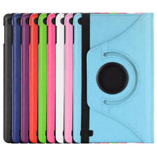 "For Amazon Kindle Fire 7"" 8"" Inch Tablet 360° Rotating Leather Stand Case Cover"