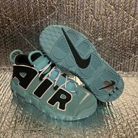 New Nike Air More Uptempo (GS) Kids Light Aqua 415082-403 Size 5Y, Women 6.5
