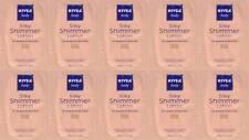 (10 Pack) Nivea Body Silky Shimmer Lotion For Medium to Dark Skin Samples