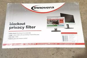 """Innovera BLF22W, Black-Out Privacy Filter for 22"""" WIDESCREEN LCD Monitor"""