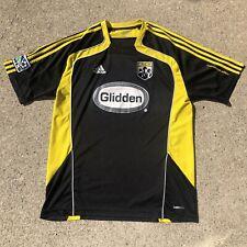 Men's Adidas Columbus Crew Glidden Soccer Jersey Sz L