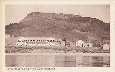 Hôtel Percé MONT STE ANNE Quebec Canada 1930-40s Intaglio Gravure Ltd. Postcard