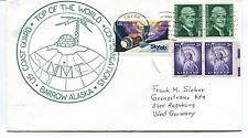 1976 U.S. Coast Guard Radio Station Barrow Alaska Communications Polar Cover