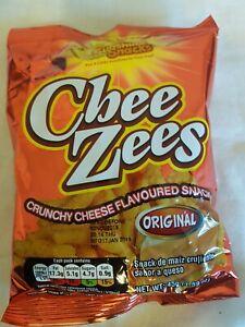 Jamaican Sunshine Snacks   CHEE ZEES    12 x 45g.