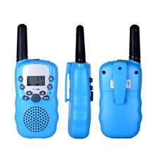 2PCS T-388 Walkie Talkie 8/22 Channels 5Km 2 Way Radios Flashlight For Travel