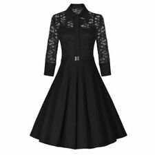Vestiti da donna anni'50, rockabilly pizzo taglia S