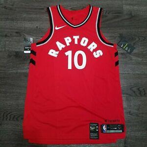 NIKE Aeroswift Demar Derozan #10 NBA Toronto Raptors Authentic Jersey MEDIUM 44