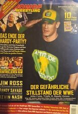 Power Wrestling Magazin September 2009 WWE TNA + 10 Poster (Summerslam, Edge)