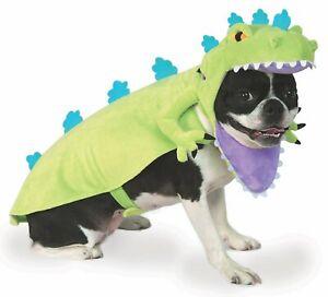 Reptar Dog Costume Rugrats Dinosaur T-Rex Pet Cat Halloween Nickelodeon Cosplay