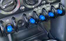 MINI Gen 1 Toggle Switch Covers - Blue - 10x pcs - R50 R52 R53