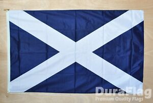 "SCOTLAND ST ANDREW DURAFLAG hard wearing FLAG 18"" X 12"" 45cm x 30cm SCOTTISH"