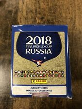 """2018 Panini Russia FIFA World Cup Soccer Sticker Collection �€"""" 50 Pack Box"""